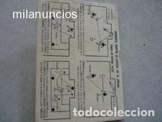 Coleccionismo deportivo: CALENDARIO FUTBOL ANTIGUO 1951-52 - Foto 3 - 114747439