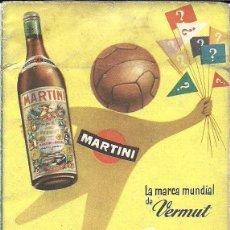 Coleccionismo deportivo: CALENDARIO DE FÚTBOL, PRIMERA Y SEGUNDA DIVISIÓN LIGA 1954 - 1955. Lote 115068539