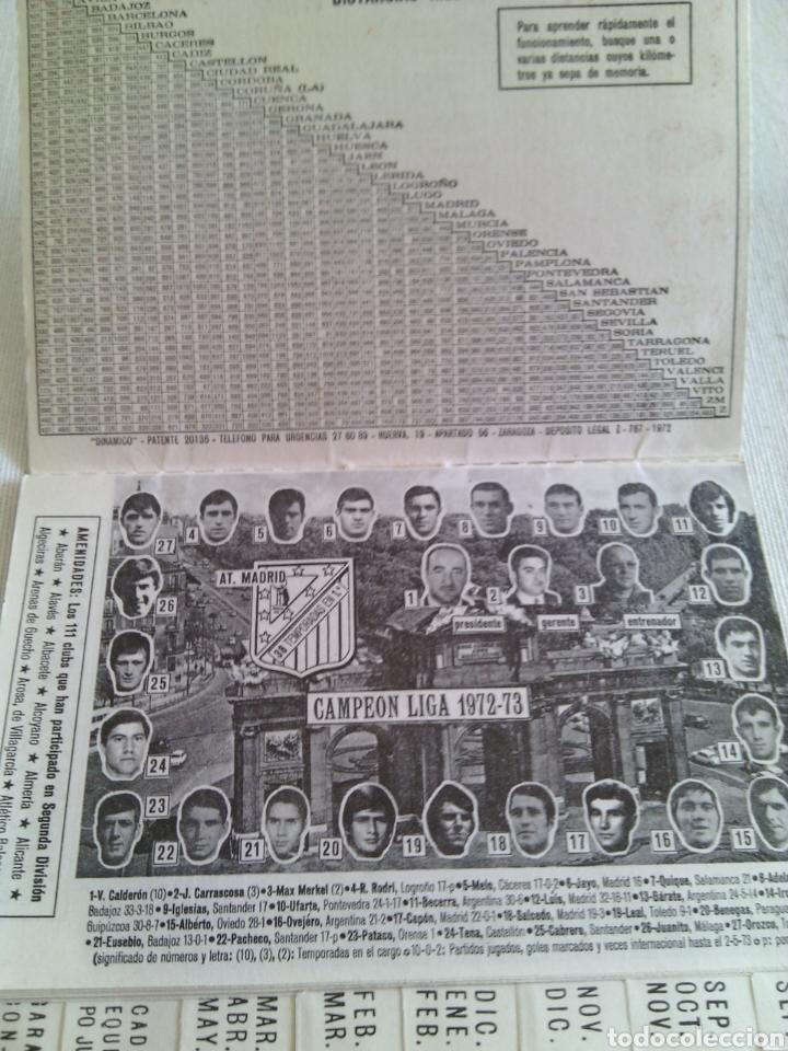 Coleccionismo deportivo: CALENDARIO FUTBOL TEMPORADA 1973-1974.FRANCISCO RICO(GESTOR)ELCHE. - Foto 3 - 115731420