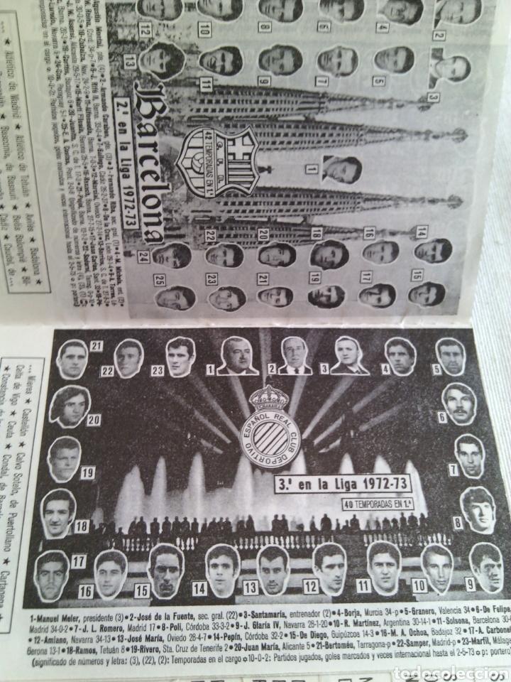 Coleccionismo deportivo: CALENDARIO FUTBOL TEMPORADA 1973-1974.FRANCISCO RICO(GESTOR)ELCHE. - Foto 4 - 115731420