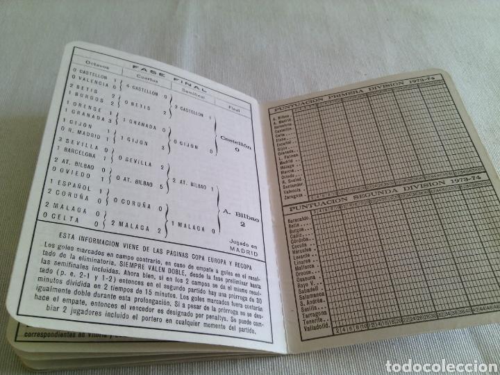 Coleccionismo deportivo: CALENDARIO FUTBOL TEMPORADA 1973-1974.FRANCISCO RICO(GESTOR)ELCHE. - Foto 6 - 115731420