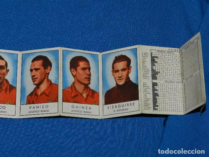 Coleccionismo deportivo: CALENDARIO DE LIGA TEMPARADA 1953 - 54 , IMAGENES DEL EQUIPO DE LA SELECCION ESPAÑOLA, GAINZA , ETC - Foto 4 - 115905939