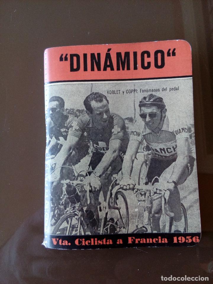 CALENDARIO DINAMICO VUELTA A FRANCIA 1956 - BUEN ESTADO (Coleccionismo Deportivo - Documentos de Deportes - Calendarios)