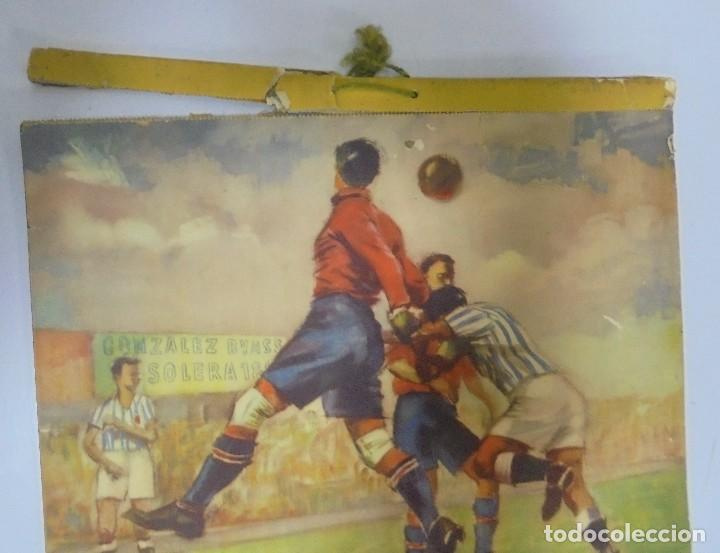 Coleccionismo deportivo: CALENDARIO DEPORTIVO. PUBLICITARIO GONZALEZ BYASS. 1945. COMPLETO. VER - Foto 13 - 117016543