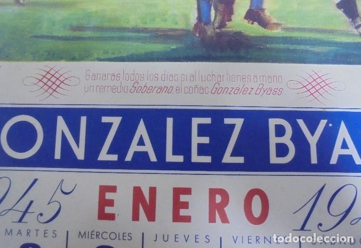 Coleccionismo deportivo: CALENDARIO DEPORTIVO. PUBLICITARIO GONZALEZ BYASS. 1945. COMPLETO. VER - Foto 14 - 117016543