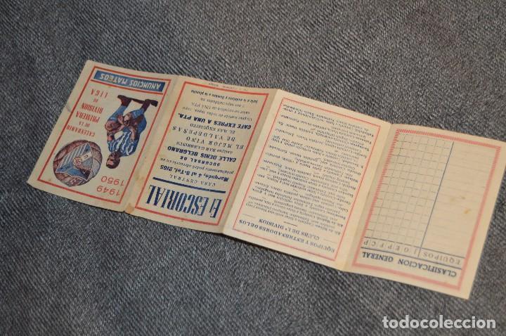 Coleccionismo deportivo: LOTE DE 2 ANTIGUOS CALENDARIOS DE FÚTBOL - AÑOS 40 Y 50 - MÁLAGA / CEREGUMIL - VINTAGE - HAZ OFERTA - Foto 9 - 117579543