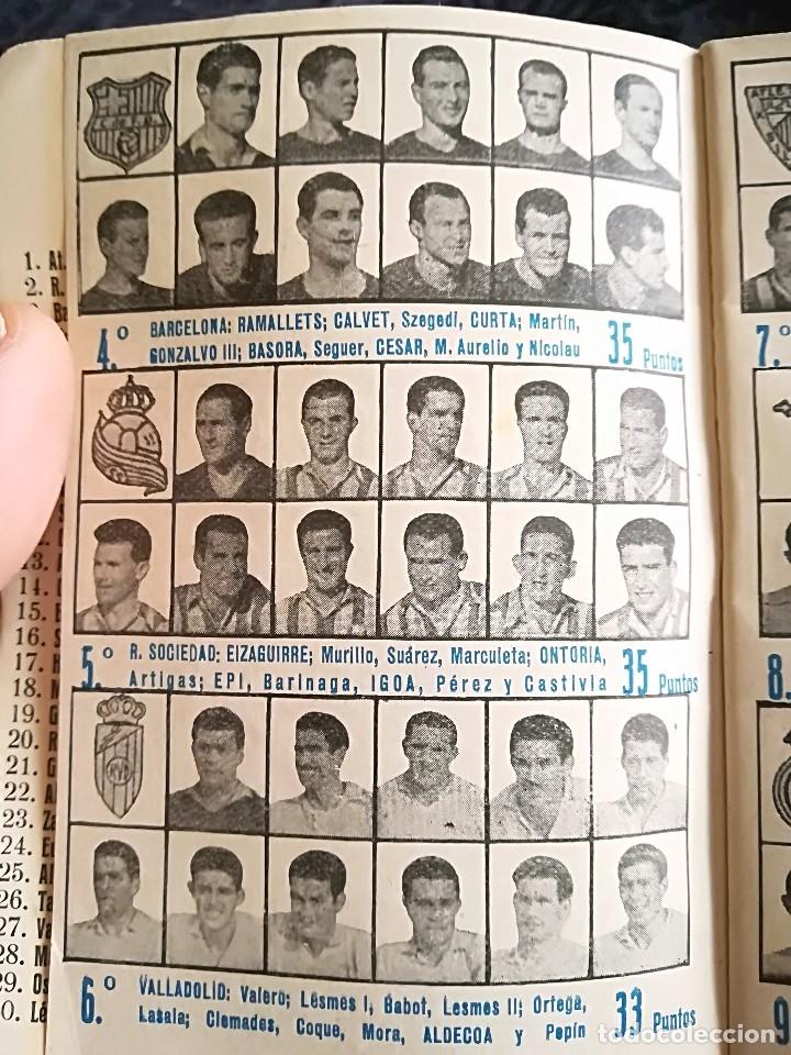 Coleccionismo deportivo: CALENDARIO FUTBOL ANTIGUO 1951-52 - Foto 5 - 114747439