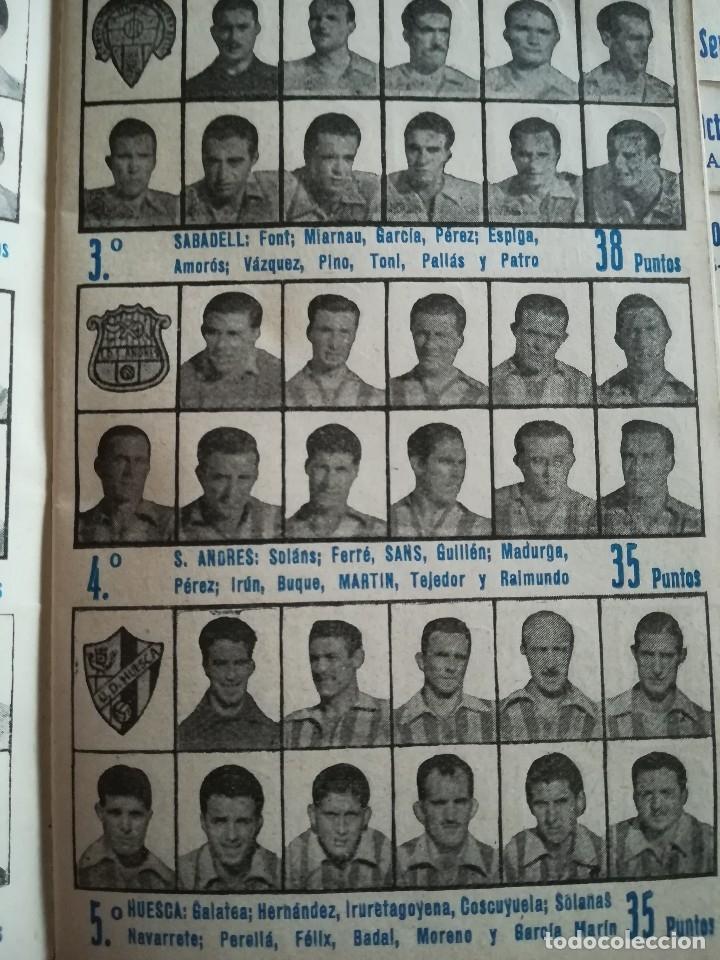 Coleccionismo deportivo: CALENDARIO FUTBOL ANTIGUO 1951-52 - Foto 11 - 114747439