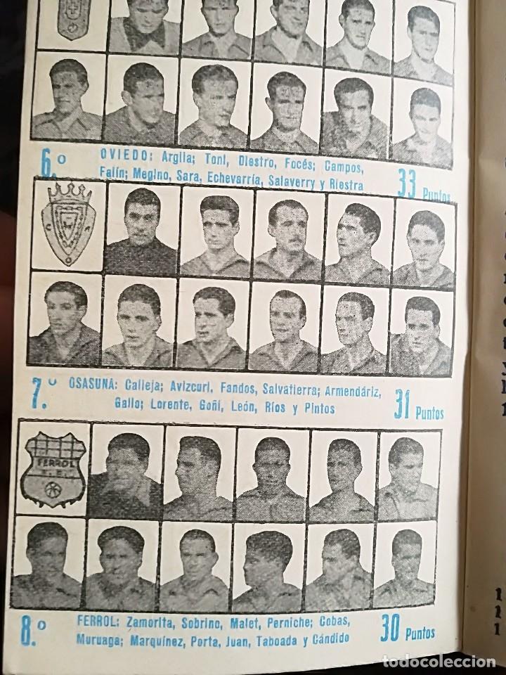 Coleccionismo deportivo: CALENDARIO FUTBOL ANTIGUO 1951-52 - Foto 12 - 114747439
