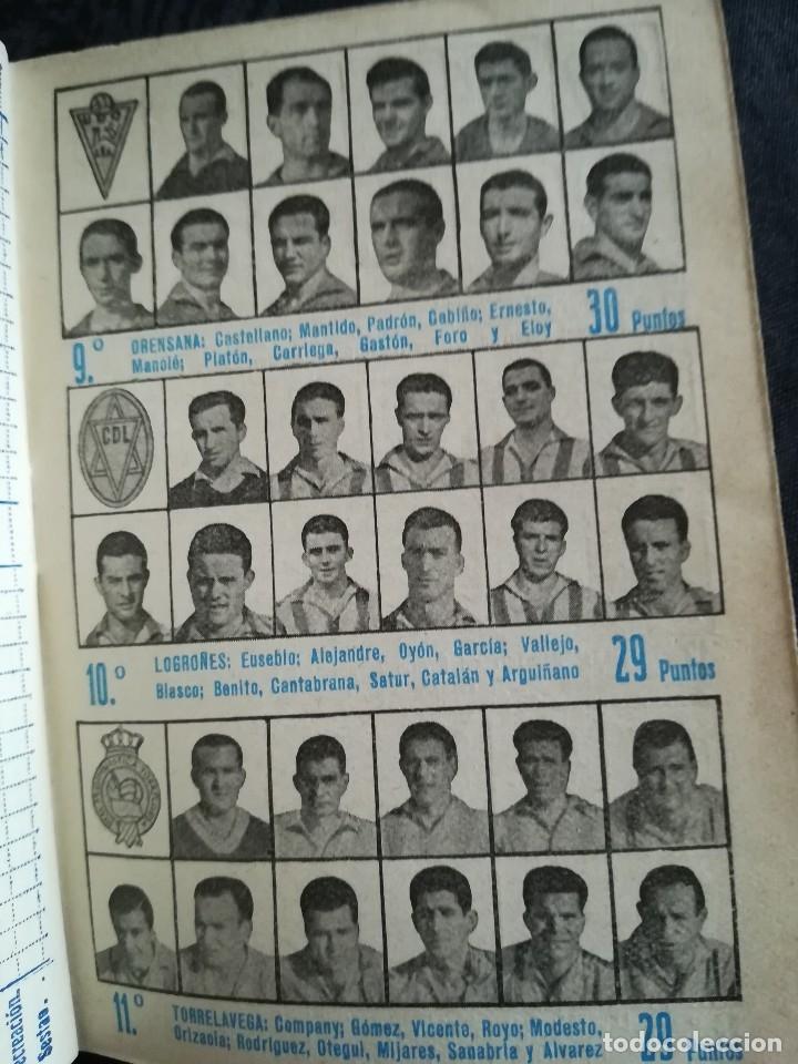 Coleccionismo deportivo: CALENDARIO FUTBOL ANTIGUO 1951-52 - Foto 13 - 114747439