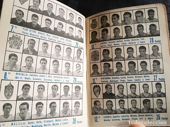 Coleccionismo deportivo: CALENDARIO FUTBOL ANTIGUO 1951-52 - Foto 16 - 114747439