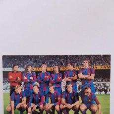 Coleccionismo deportivo: FC BARCELONA 1977. Lote 119005111