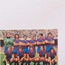 Coleccionismo deportivo: FC BARCELONA 1978. Lote 119005183