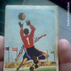 Coleccionismo deportivo: CALENDARIO LIGA 1960 61 FUTBOL ESPAÑA PUBLICIDAD CAFE EL CRUCE MADRID. Lote 119094331