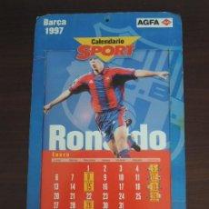 Coleccionismo deportivo: CALENDARIO SPORT BARÇA 1997. Lote 120335451
