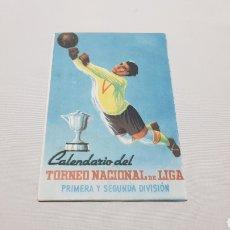 Coleccionismo deportivo: CALENDARIO DEL CAMPEONATO NACIONAL DE LIGA 1949 - 50. Lote 120611086