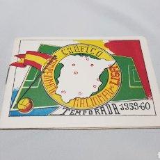 Coleccionismo deportivo: MUY CURIOSO CALENDARIO GRAFICO DEL CAMPEONATO NACIONAL DE LIGA FUTBOL 1959 - 60. Lote 120696188