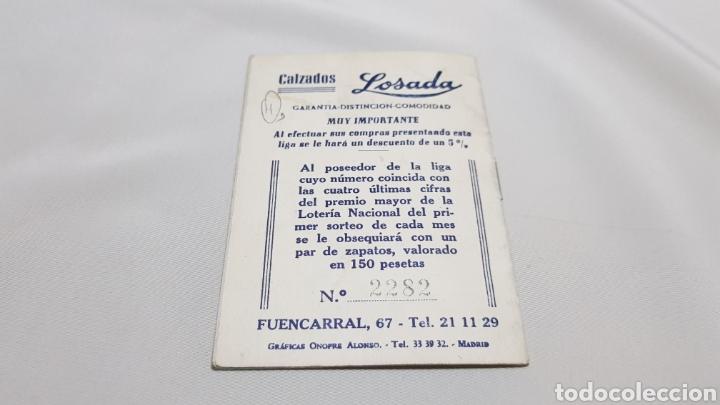 Coleccionismo deportivo: Calemdario campeonato nacional de liga 1955 - 56 . Calzados losada - Foto 5 - 120697002