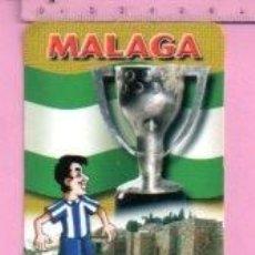 Coleccionismo deportivo: CALENDARIO DE FUTBOL MALAGA DE CASA L Nº 301 DEL AÑO 2007 PUBLICIDAD ULTRAMARINOS MALAGA. Lote 121862495