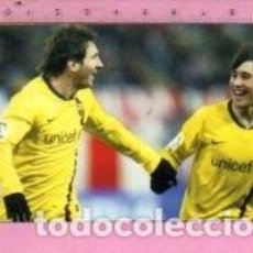 Coleccionismo deportivo: CALENDARIO DE FUTBOL BARCELONA MESSI DEL AÑO 2010 EXTRANJERO. Lote 122117535