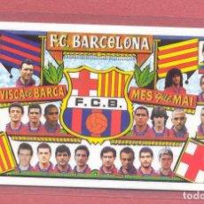 Coleccionismo deportivo: CALENDARIO DE BOLSILLO PLASTIFICADO F.C.BARCELONA 1997,NUEVO, VER FOTOS. Lote 122258427