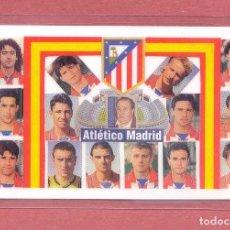 Coleccionismo deportivo: CALENDARIO DE BOLSILLO PLASTIFICADO ATLETICO DE MADRID 1999,NUEVO, VER FOTOS. Lote 122259127