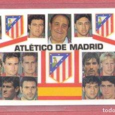 Coleccionismo deportivo: CALENDARIO DE BOLSILLO PLASTIFICADO ATLETICO DE MADRID 2000,NUEVO, VER FOTOS. Lote 122259239