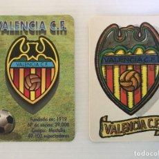 Coleccionismo deportivo: LOTE 2 CALENDARIOS VALENCIA CF 1995 – 1998. Lote 122809059