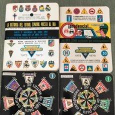 Coleccionismo deportivo: ANTIGUOS ANUARIOS DINÁMICO HISTORIA FUTBOL ESPAÑOL DOS TOMOS Y CALENDARIOS 71-72 72-73. Lote 122945499