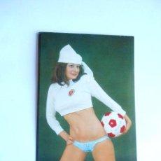 Coleccionismo deportivo: ZARAGOZA - CALENDARIO DE BOLSILLO AÑO 1978 - SIN PUBLICIDAD - NUEVO - FOTO DORSO. Lote 124422671