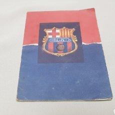 Coleccionismo deportivo: CALENDARIO DE LIGA C.F.BARCELONA 1957-1958 DE PRIMERA DIVISION. Lote 124551899