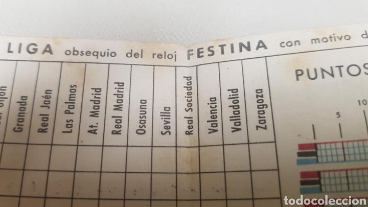 Coleccionismo deportivo: Calendario de liga c.f.Barcelona 1957-1958 de primera division - Foto 7 - 124551899