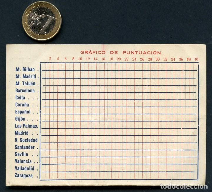 Coleccionismo deportivo: FÚTBOL, CALENDARIO, CAMPEONATO DE LIGA, TEMPORADA 1951 / 1952 - Foto 3 - 126698927