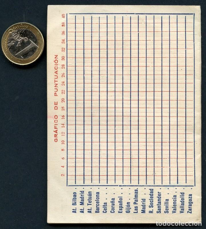 Coleccionismo deportivo: FÚTBOL, CALENDARIO, CAMPEONATO DE LIGA, TEMPORADA 1951 / 1952 - Foto 4 - 126698927