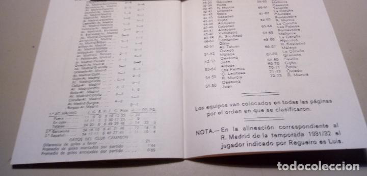 Coleccionismo deportivo: FUTBOL - CAMPEONES DE LIGA DESDE 1928 - CALENDARIO LLOMARA - HISTORIA DE LA LIGA - RESULTADOS-1973 - Foto 5 - 127192263