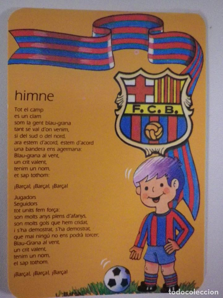Calendario Del Barca.Calendario Fc Barcelona Barca 1995 Nino Pelota Himno Himne
