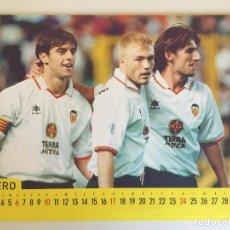 Coleccionismo deportivo: CALENDARIO A4 1999 VALENCIA CF. Lote 127655987