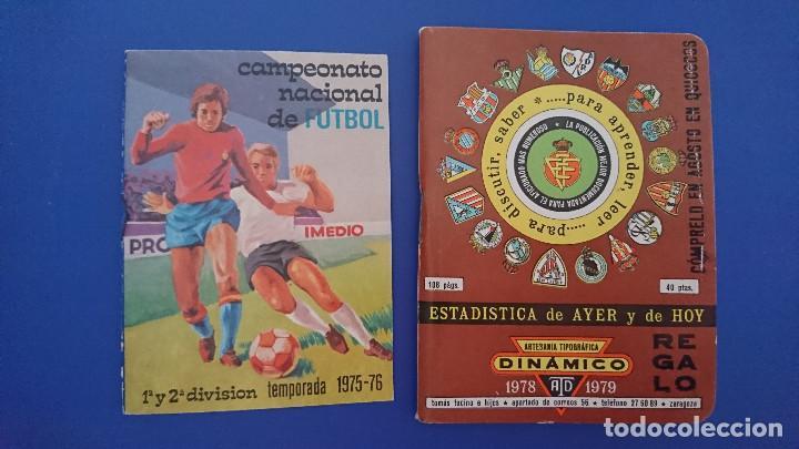 Coleccionismo deportivo: Calendario dinamico 1978 / 79 futbol con foto plantillas equipos y Calendario Imedio campeonato 1975 - Foto 2 - 129385739