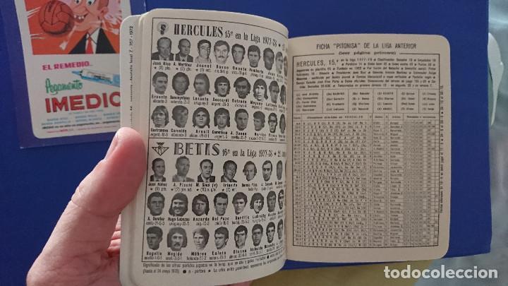 Coleccionismo deportivo: Calendario dinamico 1978 / 79 futbol con foto plantillas equipos y Calendario Imedio campeonato 1975 - Foto 5 - 129385739