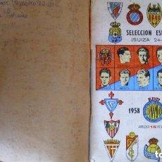 Coleccionismo deportivo: ANTIGUO ANUARIO DINÁMICO DE FÚTBOL 1958 1959 CALENDARIO LIGA. Lote 132141202