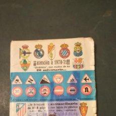 Coleccionismo deportivo: CALENDARIO DINAMICO TEMPORADA 69/70 ORIGINAL. Lote 133175926