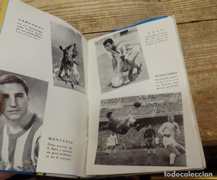 Coleccionismo deportivo: GRAFICAS SEVILLANAS, CALENDARIO TEMPORADA 1962-1963, SEVILLA, BETIS - Foto 3 - 134431970