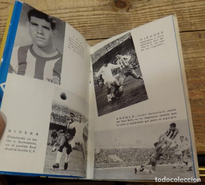 Coleccionismo deportivo: GRAFICAS SEVILLANAS, CALENDARIO TEMPORADA 1962-1963, SEVILLA, BETIS - Foto 4 - 134431970
