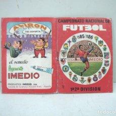 Coleccionismo deportivo: CALENDARIO FUTBOL 1985/86-PEGAMENTO IMEDIO-CAMPEONATO NACIONAL DE LIGA 1986 85. Lote 134660406