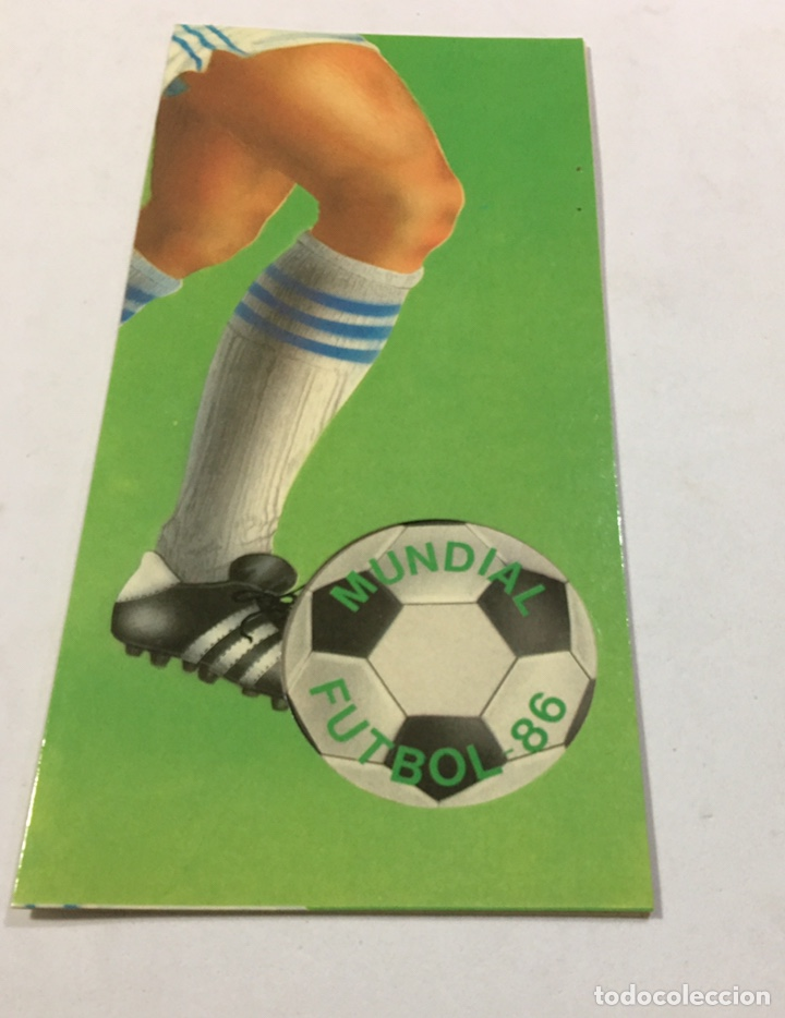 CALENDARIO DEL MUNDIAL DE FÚTBOL MEXICO 86 DE PHILIPS (Coleccionismo Deportivo - Documentos de Deportes - Calendarios)