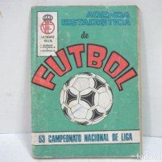 Coleccionismo deportivo: AGENDA ESTADISTICA DE FUTBOL - 53 CAMPEONATO DE LIGA -CALENDARIO 1983/84 -EDI.SURCO . Lote 136445446