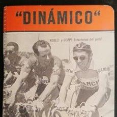 Coleccionismo deportivo: CALENDARIO DINAMICO: VUELTA CICLISTA A FRANCIA 1956. Lote 137868266