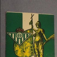 Sports collectibles - ANTIGUO CALENDARIO LIGA FUTBOL.REAL BETIS.TEMPORADA 1997 -1998 BAR MARY SEVILLA - 138045170