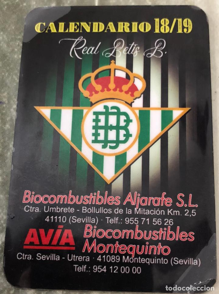 Calendario Del Real.Calendario De Partidos 2018 2019 Del Real Betis Sold