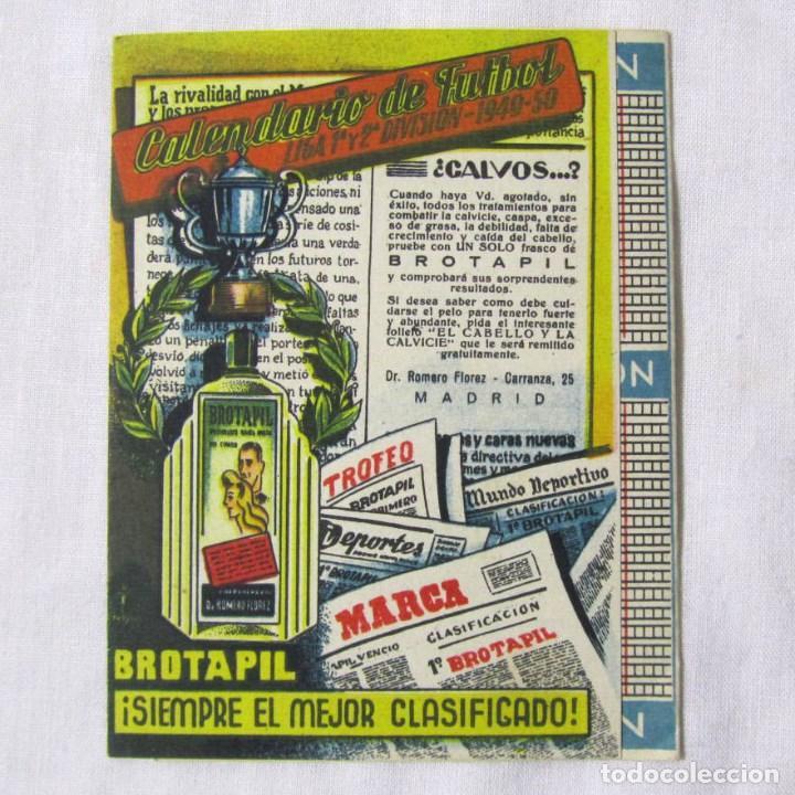 Futbol Calendario.Calendario De Futbol 1949 1950